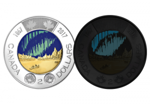 canada 2 dollars 300x208 - Light up your world with this glow in the dark coin from Canada!