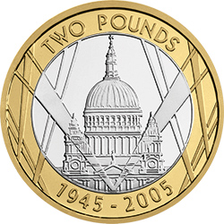 2005 End of WWII 1 - UPDATED: Vote for Britain's top historical coins!