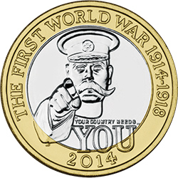 2014 UK Kitchener Silver Proof 1 - UPDATED: Vote for Britain's top historical coins!