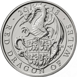 2018 Red Dragon of Wales - What's your favourite £5 coin design of the year 2018?