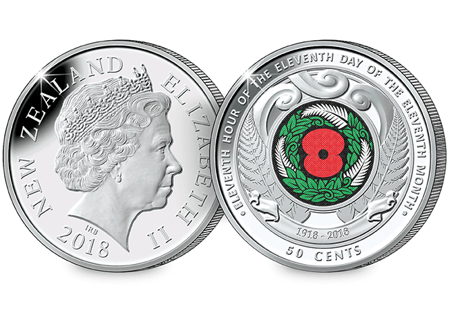 AT Change Checker Armistice Pack Mock Up New Zealand - Discover the coins issued to mark the Armistice centenary from around the world...