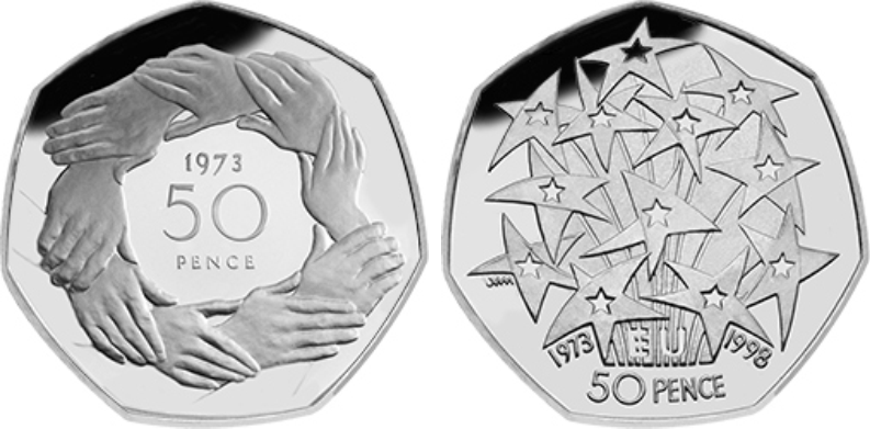 EEC 50p coins - Confirmed: Brexit 50p will be issued in 2019