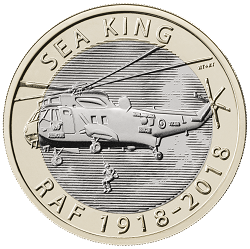 RAF Centenary Sea King 2018 - What's your favourite £2 coin design of the year 2018?