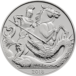 The 5th Birthday of HRH Prince George of Cambridge 2018 - What's your favourite £5 coin design of the year 2018?