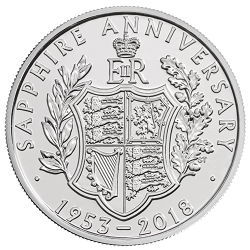 The 65th Anniversary of the Coronation of Queen Elizabeth - What's your favourite £5 coin design of the year 2018?