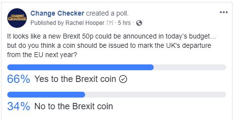 brexit vote - Confirmed: Brexit 50p will be issued in 2019