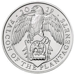 falcon - What's your favourite £5 coin design of the year 2018?