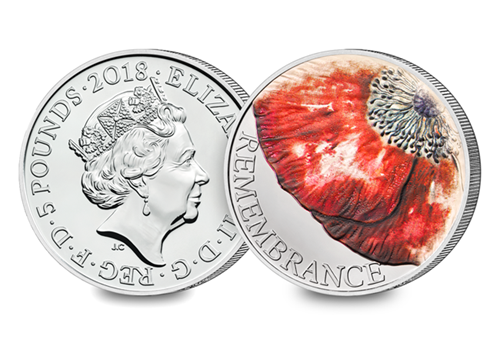 2018 Remembrance Day - Discover the coins issued to mark the Armistice centenary from around the world...