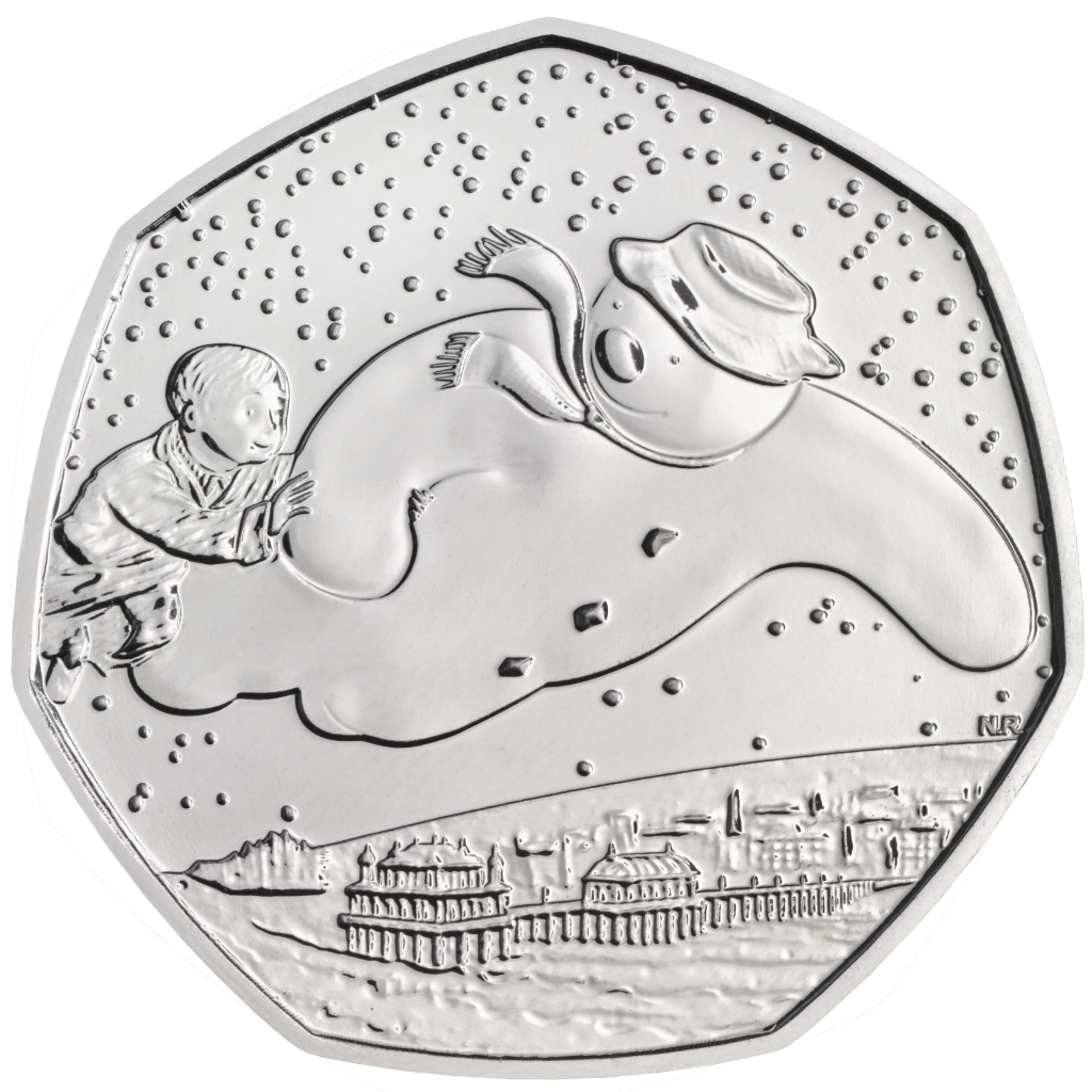 40th Anniversary of The Snowman 2018 UK 50p Brilliant Uncirculated Coin rev uku83713 1024x1024 - What's your favourite 50p coin design of the year 2018?