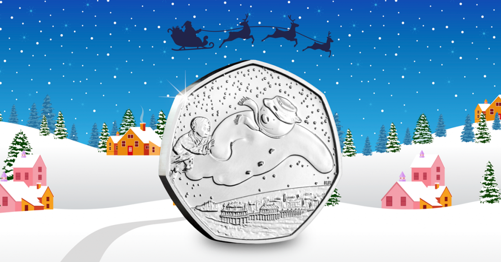 Released today: The Snowman coin we've all been waiting for…