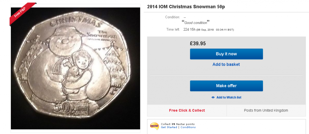 ebay 1024x446 - The hunt is on for the Isle of Man Wren £2 and other Manx Christmas coins!