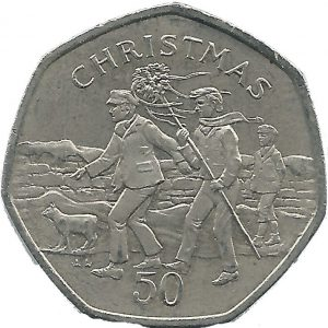 hunt 50p 300x300 - The hunt is on for the Isle of Man Wren £2 and other Manx Christmas coins!