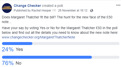 margaret thatcher vote - Does Margaret Thatcher fit the bill? The hunt for the new face of the £50 note.