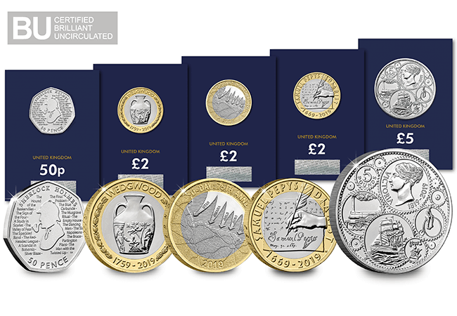 AT 2019 Certified BU Set Product Images Main 1 - First look: New Royal Mint coin designs for 2019!