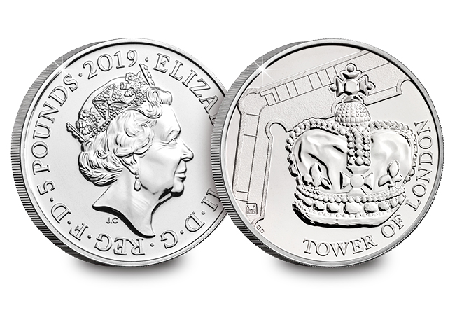 crown jewels - NEW UK Coin Series celebrates one of Britain's most iconic attractions…
