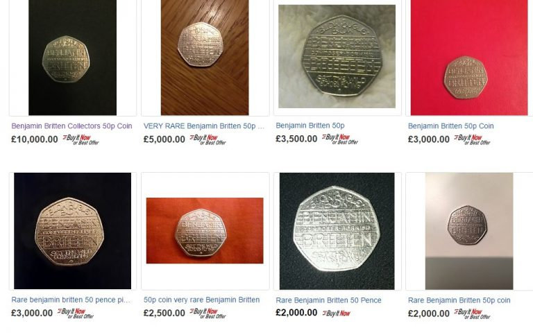 ebay benjamin britten - How much is your coin really worth? Debunking eBay coin price myths...