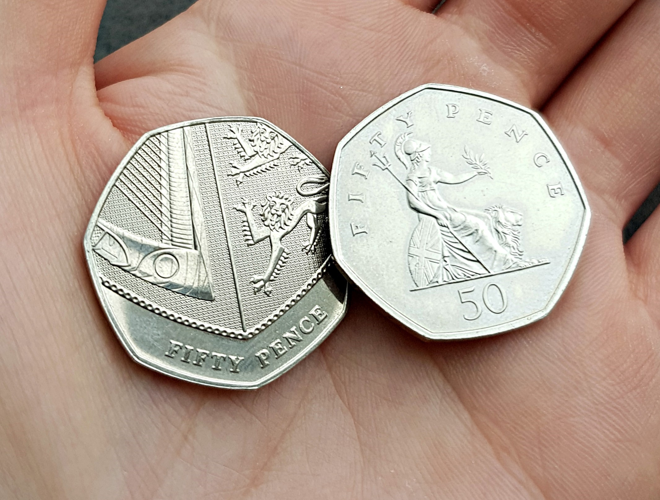 20190125 134111 - The rarest 50p and £2 coins revealed! UPDATED UK mintage figures.