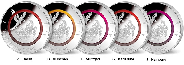 German 5 euros - 5 Fascinating Coins from Around the World