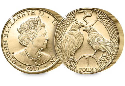 isle of man 2017 1 pound - The UK's 12 sided £1 goes global!
