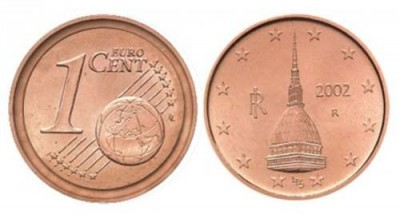 one cent Italian error - Fascinating Finds: a road trip through the pockets of the Eurozone