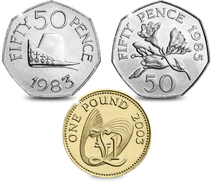 Guernsey Coins - Your guide to Guernsey's rarest coins in circulation... Mintage figures revealed!