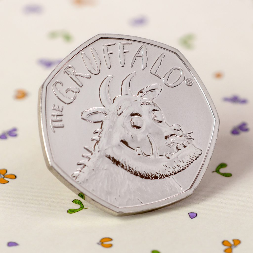 ST UK 2019 Gruffalo CuNi BU 50p Coin Facebook Banner3 Square 1024x1024 - Is there really no such thing as a Gruffalo®? Much anticipated 50p finally released!