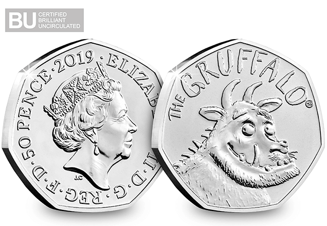 gruffalo 50p - Is there really no such thing as a Gruffalo®? Much anticipated 50p finally released!