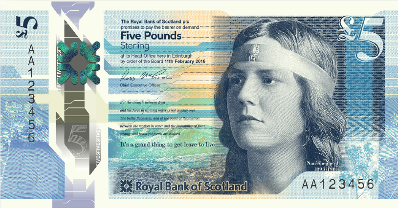 image.dmp .m.new pound5 note front - Northern Ireland's First Trust Bank to stop issuing their own banknotes