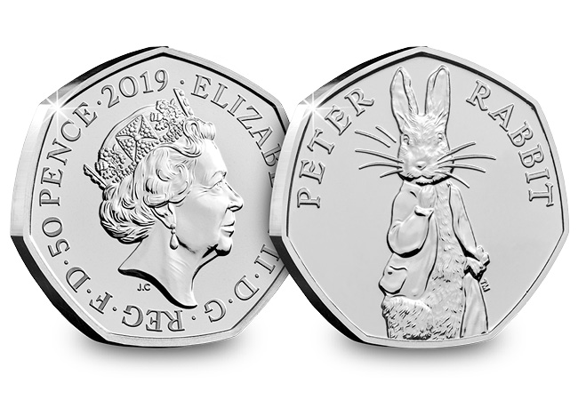 The Return of Peter Rabbit! NEW 2019 coin released!