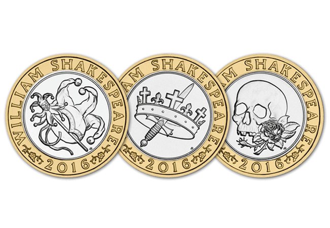 shakespeare - Celebrating World Book Day on Britain's Best Loved Coins