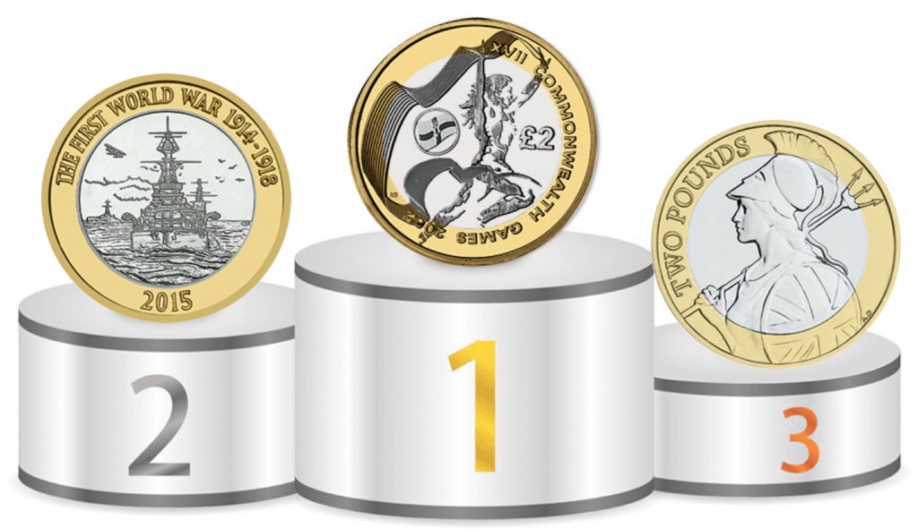 top three two pounds 1024x591 - Why you should be collecting £2 coins