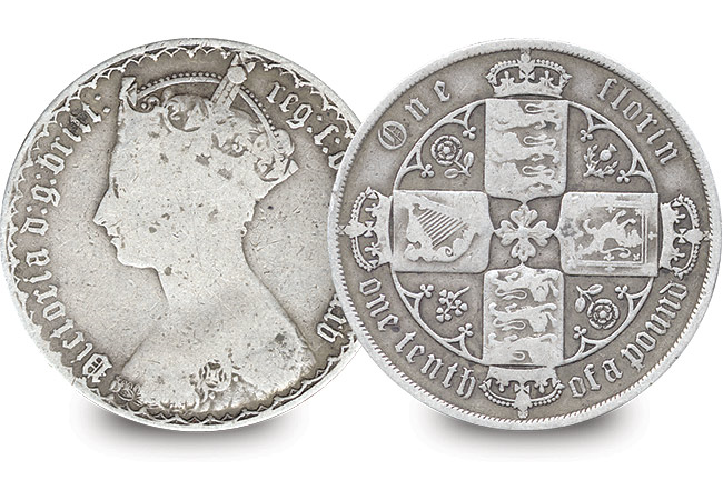 Florin - Did you know that the first 10p is actually 170 years old?