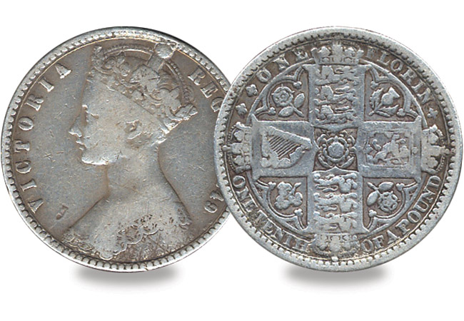 Godless Florin - Did you know that the first 10p is actually 170 years old?