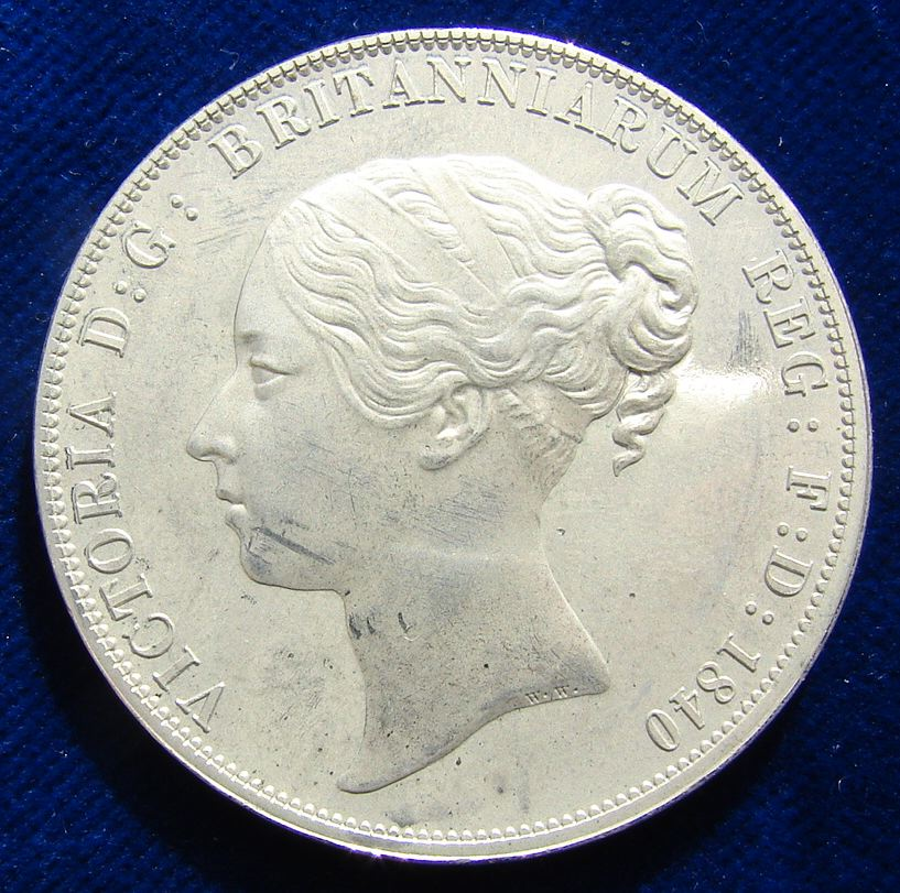 Victoria Young Head by William Wyon - Did you know that the first 10p is actually 170 years old?
