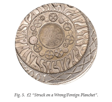 foreign planchet - Have I found a rare coin? £2 'errors' explained!