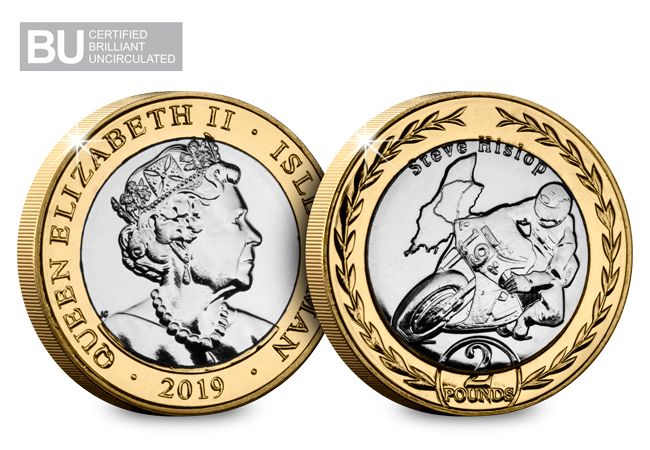 In poll position for 2019 - brand new Isle of Man TT £2 coins released!