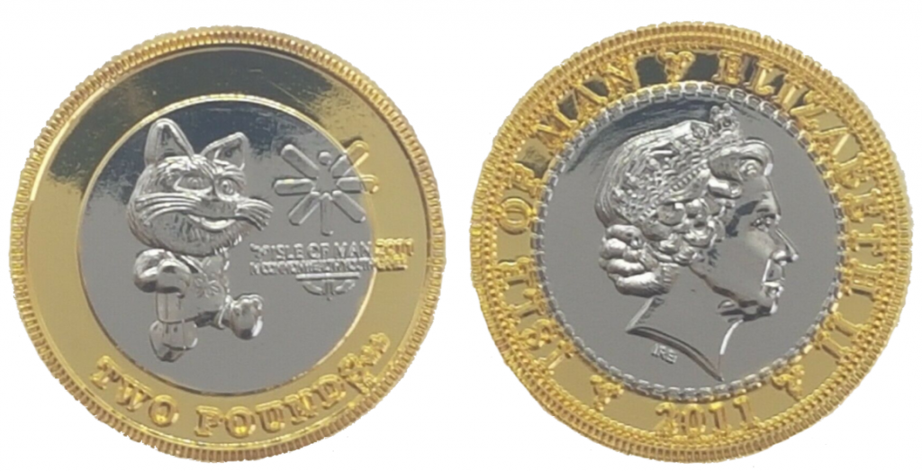 Why is the Tosha Cat £2 one of the Isle of Man's most sought-after coins?