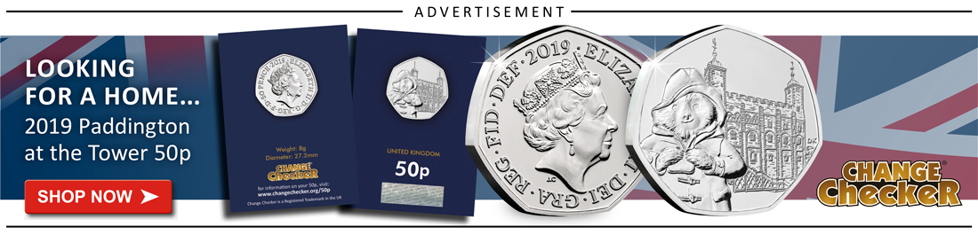 CL Change Checker Paddington tower in blog ad - The UK's Top 10 Rarest Coins in Circulation