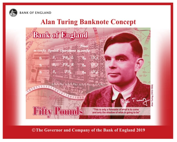 Face of the Fifty Pound Note REVEALED!