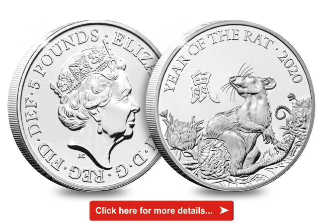 The FIRST EVER Brilliant Uncirculated Chinese Lunar Calendar £5 Coin