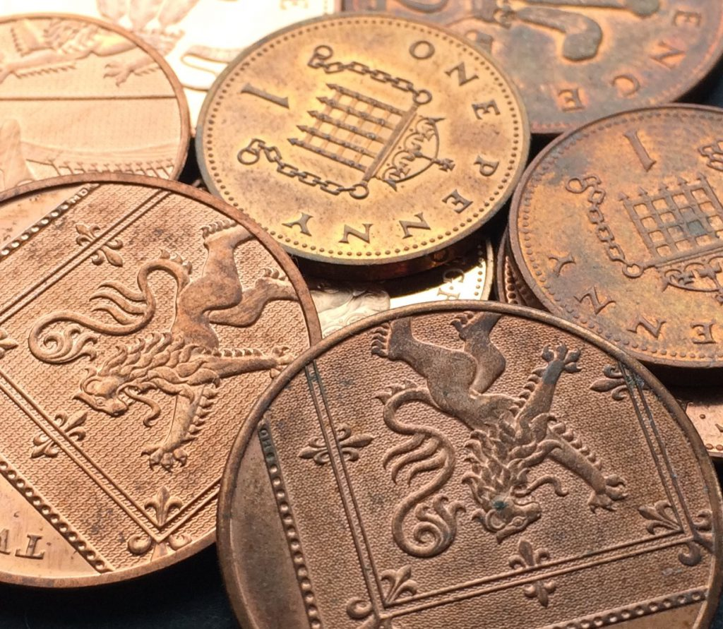 Why you won't find 2018 dated 1p and 2p coins in your change...