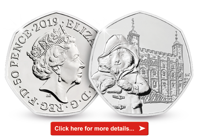 Paddington's London adventure continues - new coins revealed!
