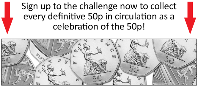 The Definitive 50p Collecting Challenge