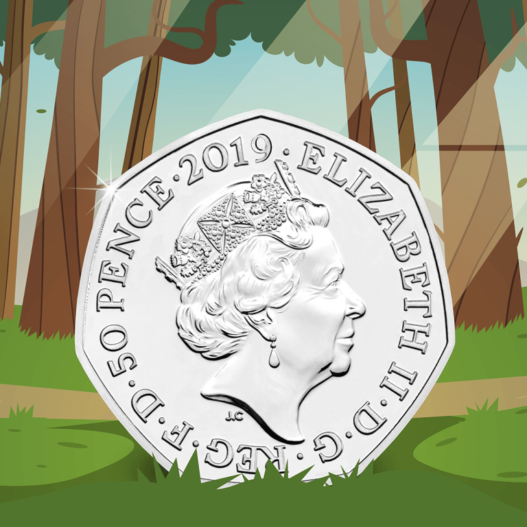 Oh help! Oh no! It's a Gruffalo 50p...
