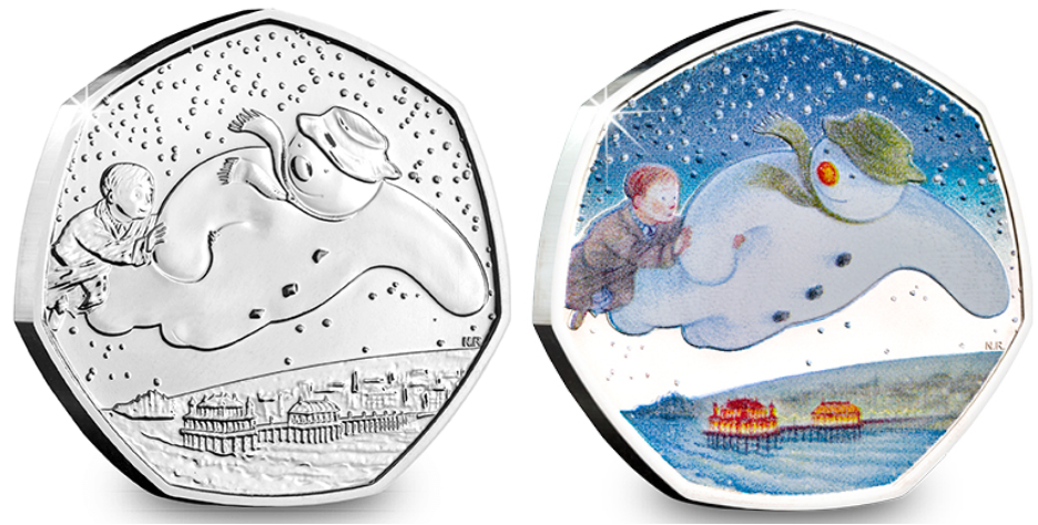 The Snowman™ returns for 2019! New Christmas 50p released...