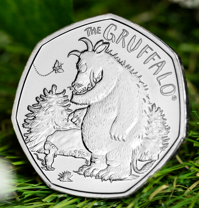 Brand New The Gruffalo and Mouse 50p released!
