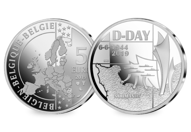 D-Day commemorated by four world-renowned Mints