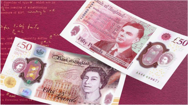 Alan Turings £50 banknote officially unveiled - Security